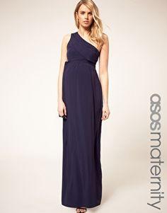 ASOS Maternity Exclusive One Shoulder Maxi Dress    Für Michelle