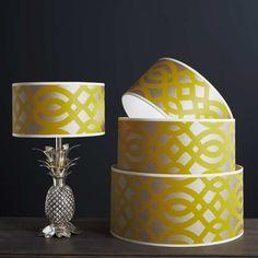Pompadour Drum Lamp Shade - Lamp Shades - Lighting