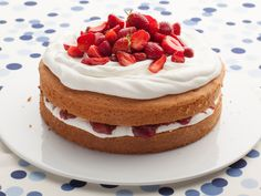 Get this all-star, easy-to-follow Strawberry Rhubarb Shortcake recipe from Food Network Kitchen
