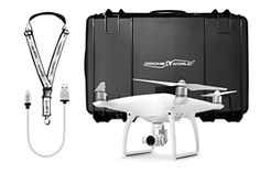 DJI Phantom 4 Bundle with Black Wheeled Hard Case *** You can find more details by visiting the image link.