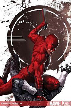 Daredevil Annual #1 by Marko Djurdjevic