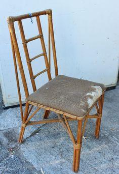 Poor little chair.