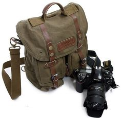 Venta caliente profesional SLR cámara Digital bolsa, lienzo vendimia bolsillo, bolso del totalizador del hombro paquete por caja para Canon Nikon en Bolsos para Cámaras de Electrónica de Consumo en AliExpress.com | Alibaba Group