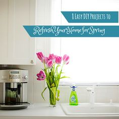 8 Easy DIY Projects to Refresh Your Home for Spring