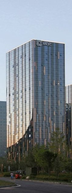 Excellent Architecture > Midwest Commodity Exchange Centre. Foreign Trade Building, 2nd Ring Road Yanxian Commerce Jingjidai, Beilin, Xi'an, Shaanxi, China, 710021.
