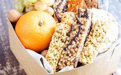Download wallpapers 4k, healthy breakfast, snack, muesli, fruits, breakfast