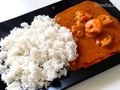 Rýchle curry krevety - Recept