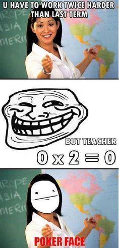 Troll Face – Problem Teacher?