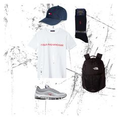 """""""Untitled #19"""" by liliya19052003 on Polyvore featuring Tommy Hilfiger, Polo Ralph Lauren and The North Face"""