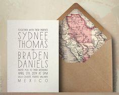 Simple Handwriting Wedding Invitation Suite