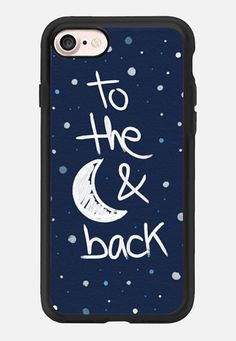 Casetify iPhone 7 Classic Grip Case - To the moon by Emanuela Carratoni #Casetify