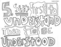 Habits of Happy Kids doodle 5
