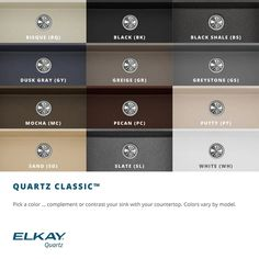 Elkay Quartz Classic 33 Double Basin Granite Composite Kitchen Sink for Undermount Installations - Bisque Composite Kitchen Sinks, Composite Sinks, Single Bowl Kitchen Sink, Farmhouse Sink Kitchen, Farmhouse Decor, Kitchen Paint, Undermount Sink, Sink Faucets, Kitchen Faucets