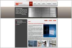 Alarmanlagen, Videoüberwachung und vieles mehr! Webdesign und SEO für die Firma Kost aus Dortmund. http://www.kost-sicherheitstechnik.de