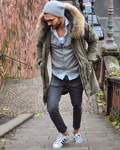 ON MY WAY. Men's fashion. Men's winter style