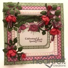 Heartfelt Creations   Celebrating Red Fuchsia