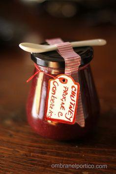 Chutney di prugne e cranberries