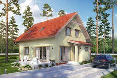 KROPLIKOWICE - Dom parterowy z poddaszem mieszkalnym, bez podpiwniczenia, bez garażu.