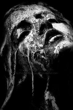 La Douleur by Polstar-Photography Cemetery Statues, Cemetery Art, Grafik Design, Belle Photo, Dark Art, Oeuvre D'art, Sculpture Art, Art Reference, Fantasy Art