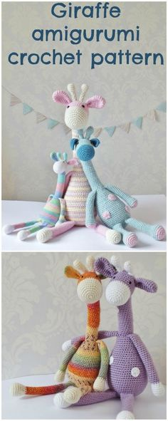 My favorite giraffe amigurumi crochet pattern. Made dozens, everyone loves them and they sell really well too. Recommended!