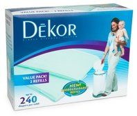 Diaper Dekor Refills - Biodegradable (2 Pack) - Regular $12.65