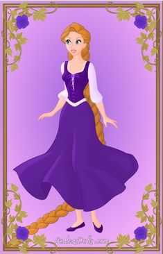 Fairytale Series: Rapunzel by LadyBladeWarAgnel