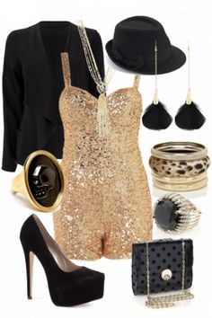 "Winning Event outfit for ""Party up"" styled by Simone #fashion #style"