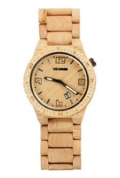 WeWOOD Voyage Men's Beige One Size Watch WeWood. $140.00. Completely free of toxic chemicals. Japanese Miyota movement. One Size Fits all!. Hypo-allergenic