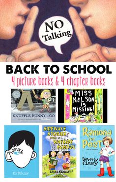 8 Great back-to-school books recommended by a children's librarian #backtoschool #edchat #educhat