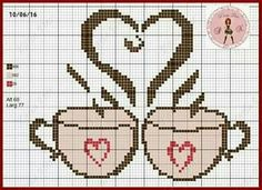 Sevilay Cross Stitch Designs, Cross Stitch Patterns, Quilt Patterns, Cross Stitching, Cross Stitch Embroidery, Cross Stitch Kitchen, Swedish Weaving, Needlepoint Designs, Tapestry Crochet