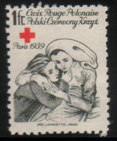 1939 Polish Red Cross Nurse postage stamp