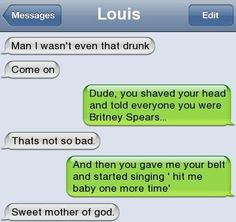 I wasn't that drunk Click for more Funny Pictures --> http://www.funnypicshub.com