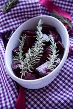Rote Bete aus dem Ofen - Oven roasted beetroot