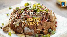 ALDI Receptek - Kenyér snack Bacon, Beef, Food, Meal, Essen, Hoods, Ox, Meals, Pork Belly