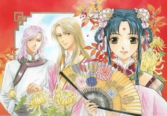 the story of saiunkoku characters - Google Search