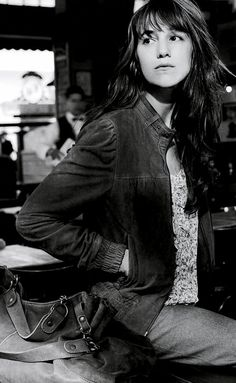 Charlotte Gainsbourg for Gérard Darel Charlotte Gainsbourg, Serge Gainsbourg, Gainsbourg Birkin, Jane Birkin, Kate Barry, Lou Doillon, Paris Chic, French Chic, French Style