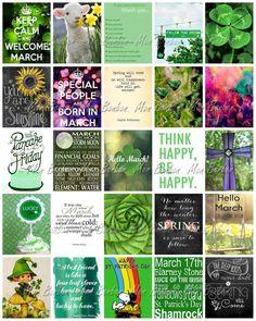 March Planner Printable Sticker Sheet - DIY Print at Home - fits Erin Condren…