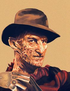 Mr.Krueger, you look so sophisticated, don't you?