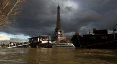 Río Sena alcanza su máximo nivel en París (Fotos) - Aristegui Noticias