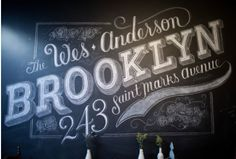beautiful hand drawn type.