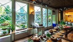 Cafe för trevlig fika på Djurgården och Östermalm - Blå Porten near Abba museum Stockholm 11-21