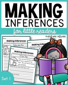 Use these easy to read comprehension pages to introduce or practice inference with your students. These pages are very basic and include a picture to help guide your students through the questions. Each page includes a very short passage, picture and 2 questions that challenge students to infer.