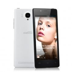 White XiaoCai X9 4.5 Inch QHD Android Phone - OGS Display, 1.2GHz Quad Core CPU, Ultra Thin