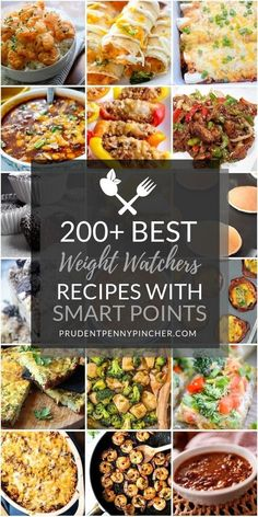 This is the ULTIMATE collection of the best weight watcher meals to help you eat healthy and lose weight. You won't ever need to look for weight watchers recipes again with two hundred of the