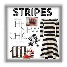 """Bold Stripes"" by tinydancer2018 ❤ liked on Polyvore featuring Kate Spade and BoldStripes"