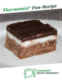 Recipe Peppermint slice Recipe by western, learn to make this recipe easily in your kitchen machine and discover other Thermomix recipes in Desserts & sweets. Slice Recipe, 5 Recipe, Peppermint Slice, Sweets Recipes, Desserts, Chocolate Icing, Recipe Community, Melted Butter, Baking