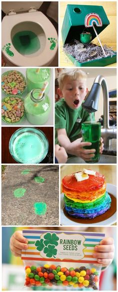 10 Simple ways to make St. Patrick's Day magical for kids- I love these ideas!