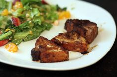 P90x recipe Island Pork tenderloin
