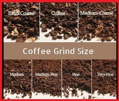 There are a few standards while grinding coffee beans coarse or fine that are ex. - There are a few standards while grinding coffee beans coarse or fine that are expected to explore. Grinding Coffee Beans, Types Of Coffee Beans, Coffee Tasting, Coffee Drinkers, Coffee Brewer, Iced Coffee, Kona Coffee, Coffee Barista, Starbucks Coffee