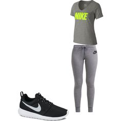 nike by orianne223 on Polyvore featuring polyvore fashion style NIKE